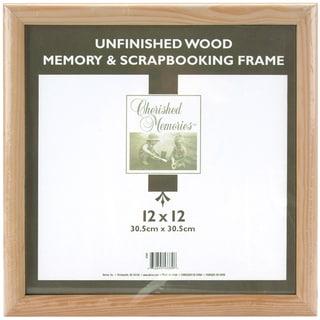 Memory Frame 12inX12inUnfinished Wood
