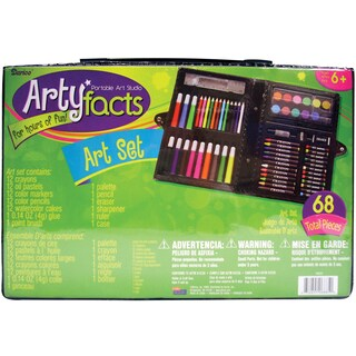 Artyfacts Portable Studio Art Set68pcs