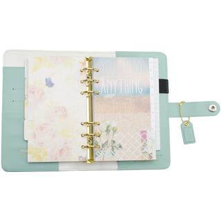 Color Crush Personal Planner KitLight Teal|https://ak1.ostkcdn.com/images/products/10547669/P17627507.jpg?impolicy=medium
