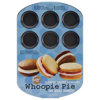 Whoopie Pie Pan12 Cavity 16.5inX11in|https://ak1.ostkcdn.com/images/products/10547683/P17627518.jpg?impolicy=medium