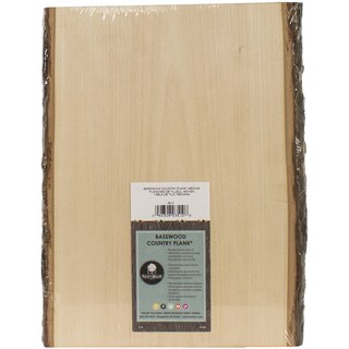 Basswood Country Rectangle Plank9in To 11inX13in