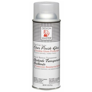 Home Decor Clear Finish Aerosol Spray 11ozGloss