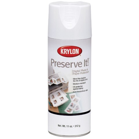 PreserveIt Digital Photo & Paper Protectant Aerosol SprayMatte 11oz