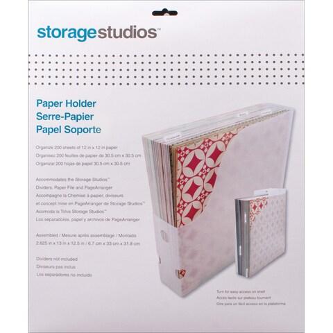 Storage Studios Paper Holder12.5inX13inX2.625in