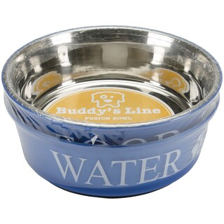 Food & Water Set Large 2qtBlue