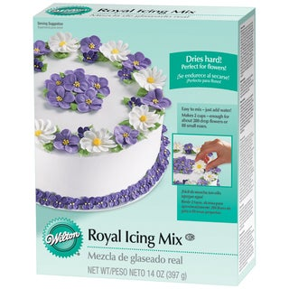 Royal Icing Mix 14ozCreamy White Buttercream