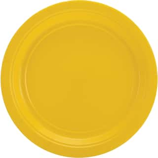 Big Party Pack Luncheon Plates 7in 50/PkgSunshine Yellow|https://ak1.ostkcdn.com/images/products/10547764/P17627611.jpg?impolicy=medium