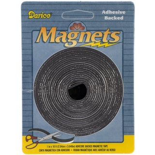 Adhesive Magnetic Tape1inX120in