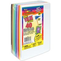 Sticky Back Foam Sheets Value Pack 6inX9in 40/PkgAssorted Colors