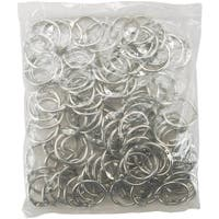 Chrome 1-inch Book Ring (Set of 100)