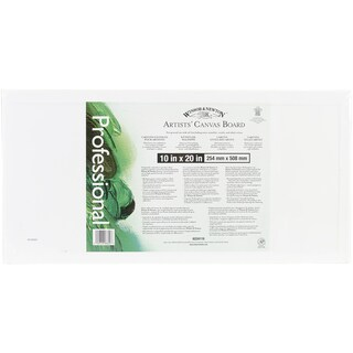 Artists' Quality Canvas Board10inX20in