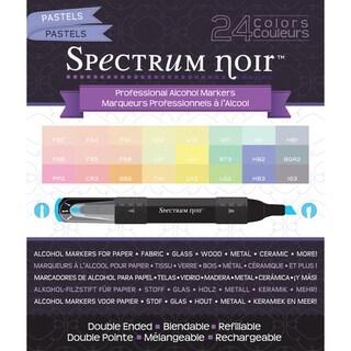 Spectrum Noir Alcohol Markers 24/PkgPastels