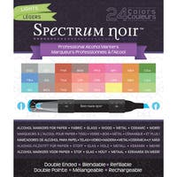 Spectrum Noir Alcohol Markers 24/PkgLights