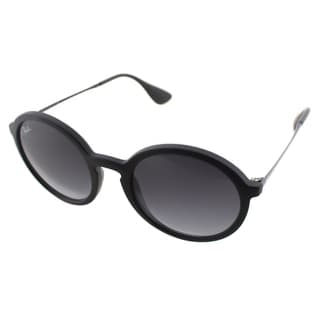 Ray Ban Unisex RB 4222 622/8G Black Rubber Round Sunglasses
