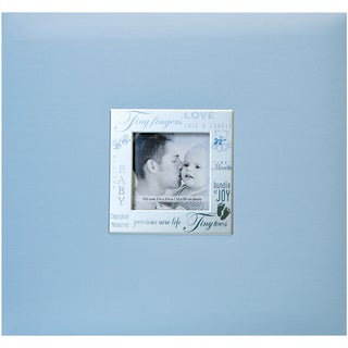Expressions Post Bound Album 8inX8inBaby Blue