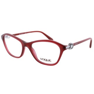 Vogue Eyewear Women's VO 2910B 2128 51mm Transparent Cherry Plastic Fashion Eyeglasses