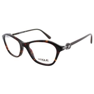 Vogue Eyewear Women's VO 2910B W656 51mm Dark Havana Plastic Fashion Eyeglasses