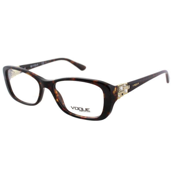 Vogue Eyewear Womens VO 2842B W656 51mm Dark Havana ...
