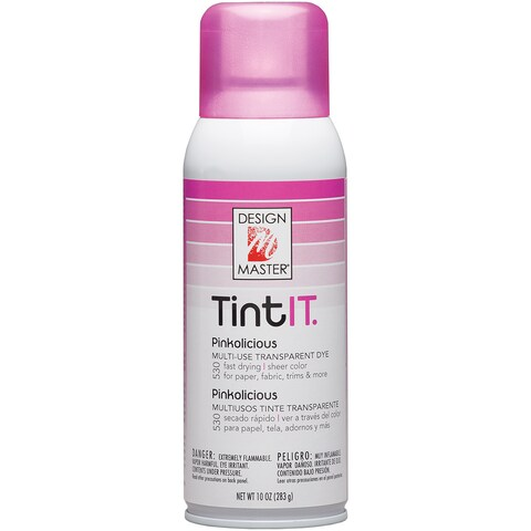 Tint IT Transparent Dye Spray Paint 10ozPinkolicious