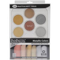 PanPastel Ultra Soft Artist Pastel Set 9ml 6/PkgMetallics