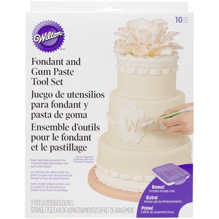 Fondant & Gum Paste Tool Set9pcs