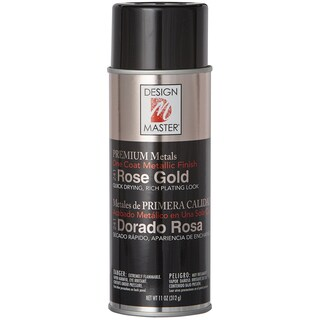 Design Master Premium Metallic Spray Paint 11ozRose Gold