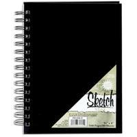 Pro Art Sketch Book 5.5inX8in80 Sheets