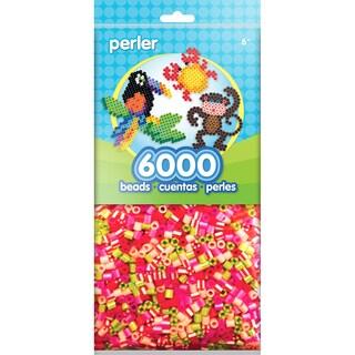 Perler Beads 6000/PkgPink/Green
