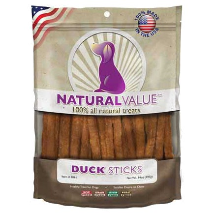 Natural Value Treats 14ozDuck Sticks