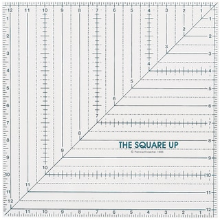 Quilt In A Day Square Up Ruler121/2inX121/2in