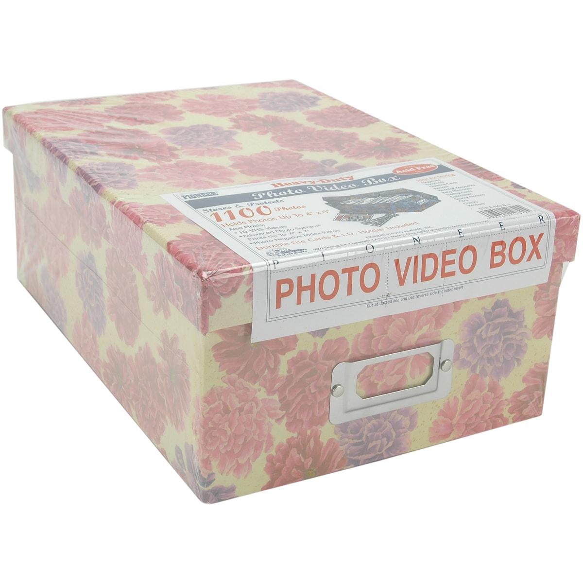 Pioneer Photo Albums Storage Box4.5inX8inX11.5in Assorted...