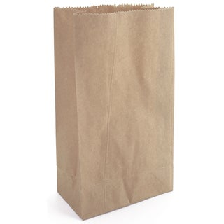 Paper Bags 4.625inX8.5in 40/PkgKraft
