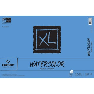 Canson XL Watercolor Paper Pad 12inX18in30 Sheets|https://ak1.ostkcdn.com/images/products/10548081/P17627878.jpg?_ostk_perf_=percv&impolicy=medium