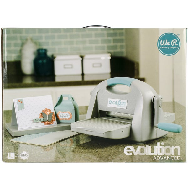 Evolution advance diecutting embossing machine free for Die cutting machines for crafts