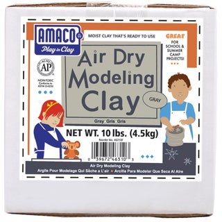 AirDry Modeling Clay 10lbGray