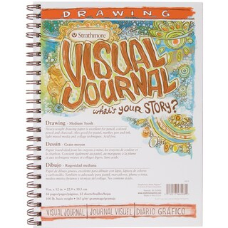 Strathmore Visual Journal Drawing 9inX12in42 Sheets