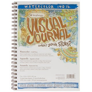 Strathmore Visual Journal Watercolor 9inX12in22 Sheets