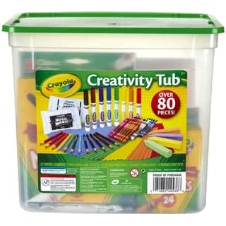 Crayola Creativity Tub|https://ak1.ostkcdn.com/images/products/10548100/P17627894.jpg?impolicy=medium