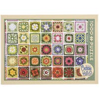 Jigsaw Puzzle 1000 Pieces 10inX14inGranny Squares