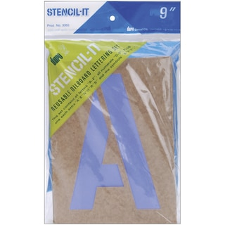 StencilIt Reusable Lettering Set9in