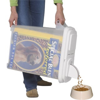 Buddeez 32qt inBagInin Pet Food Dispenser Holds Up To 22lbs