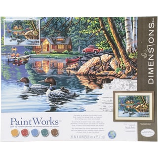 Paint Works Paint By Number Kit 16inX20inEcho Bay