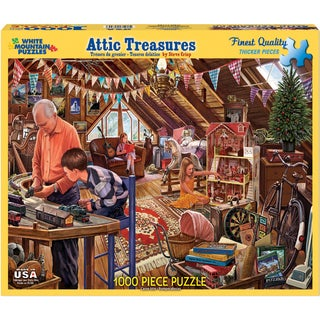 Jigsaw Puzzle 1000 Pieces 24inX30inAttic Treasures