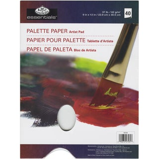 Essentials Palette Artist Paper Pad 9inX12in40 Sheets