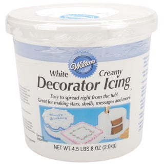 ReadyToUse Decorator Icing 4.5lbCreamy White