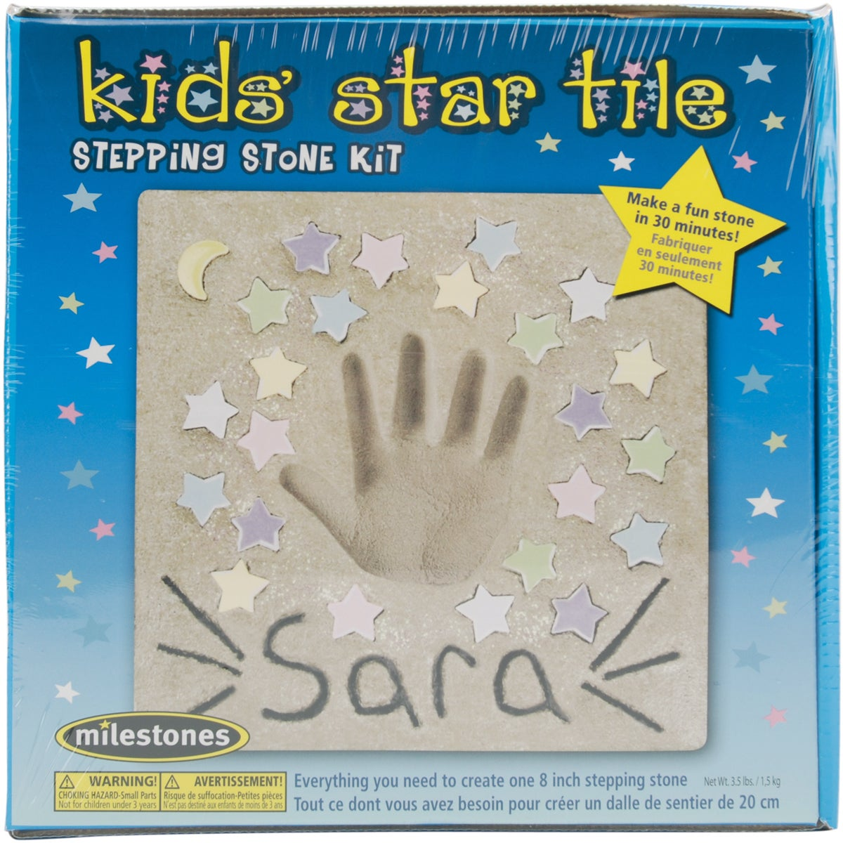 Midwest Mosaic Stepping Stone (Grey) KitKids' Star (Kids'...