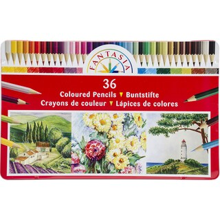 Fantasia Color Pencil Tin 36/Pkg