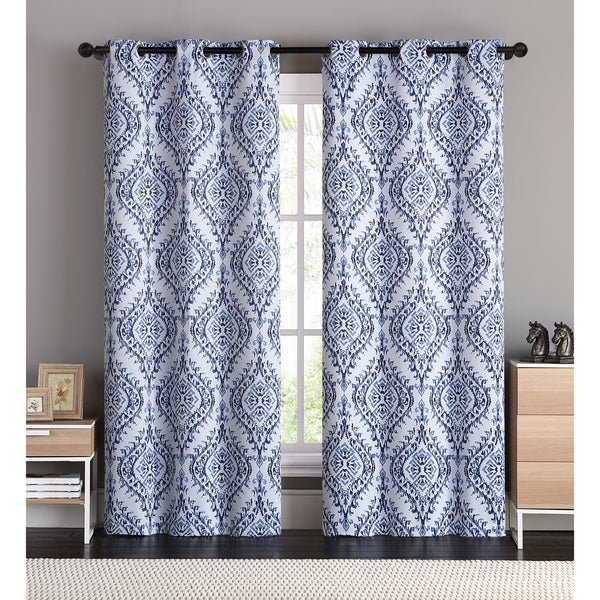 VCNY London Blackout Curtain Panel Pair - Free Shipping Today ...