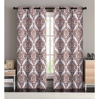 OVERSTOCK EXCLUSIVE London Blackout Curtain Panel Pair