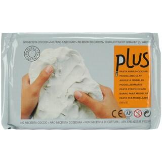 Plus Natural SelfHardening Clay 2.2lbWhite